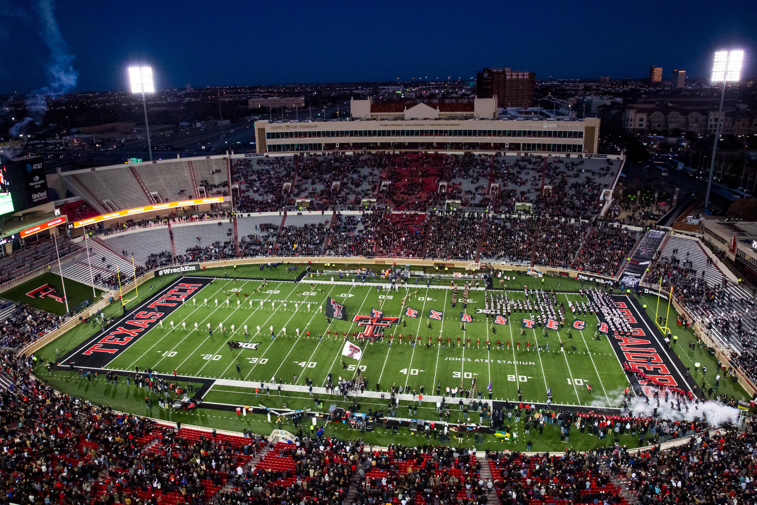 Texas Tech Football Jones Stadium Capacity Likely At 25 For 2020
