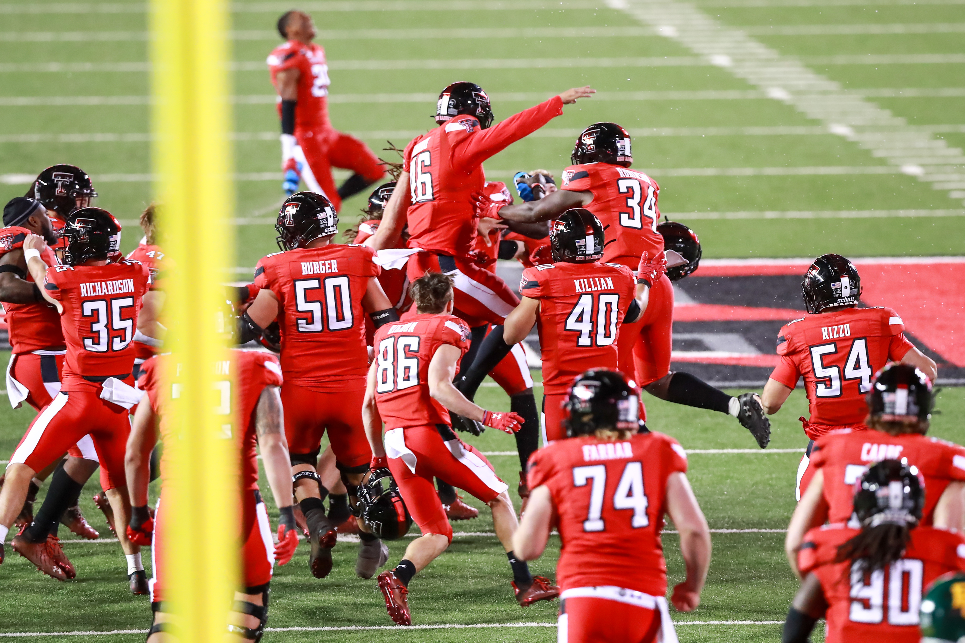 Texas Tech Football New Kicker Jonathan Garibay Propels Tech To Win