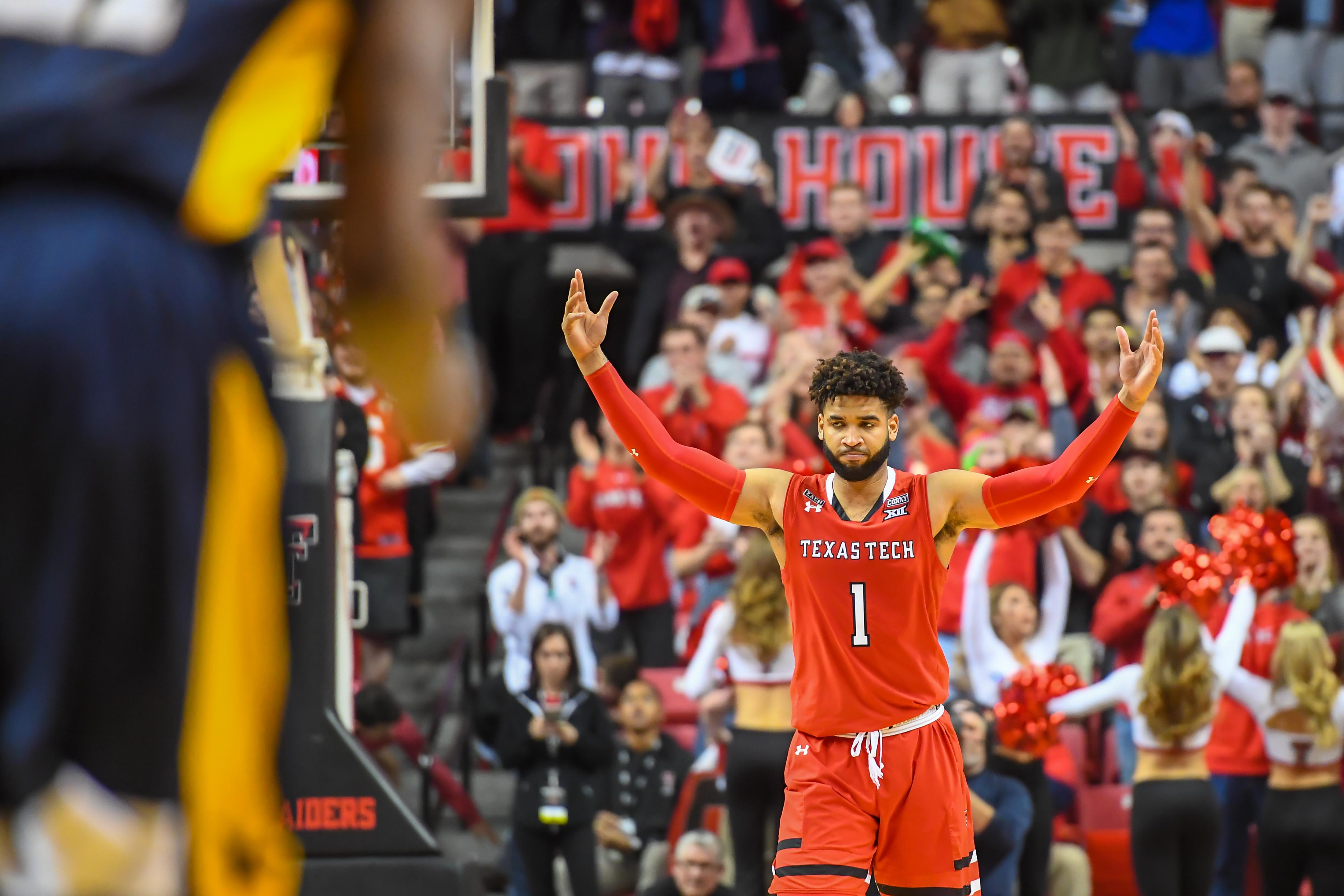 Andrew Sorrells Texas Tech Red Raiders Basketball Jersey