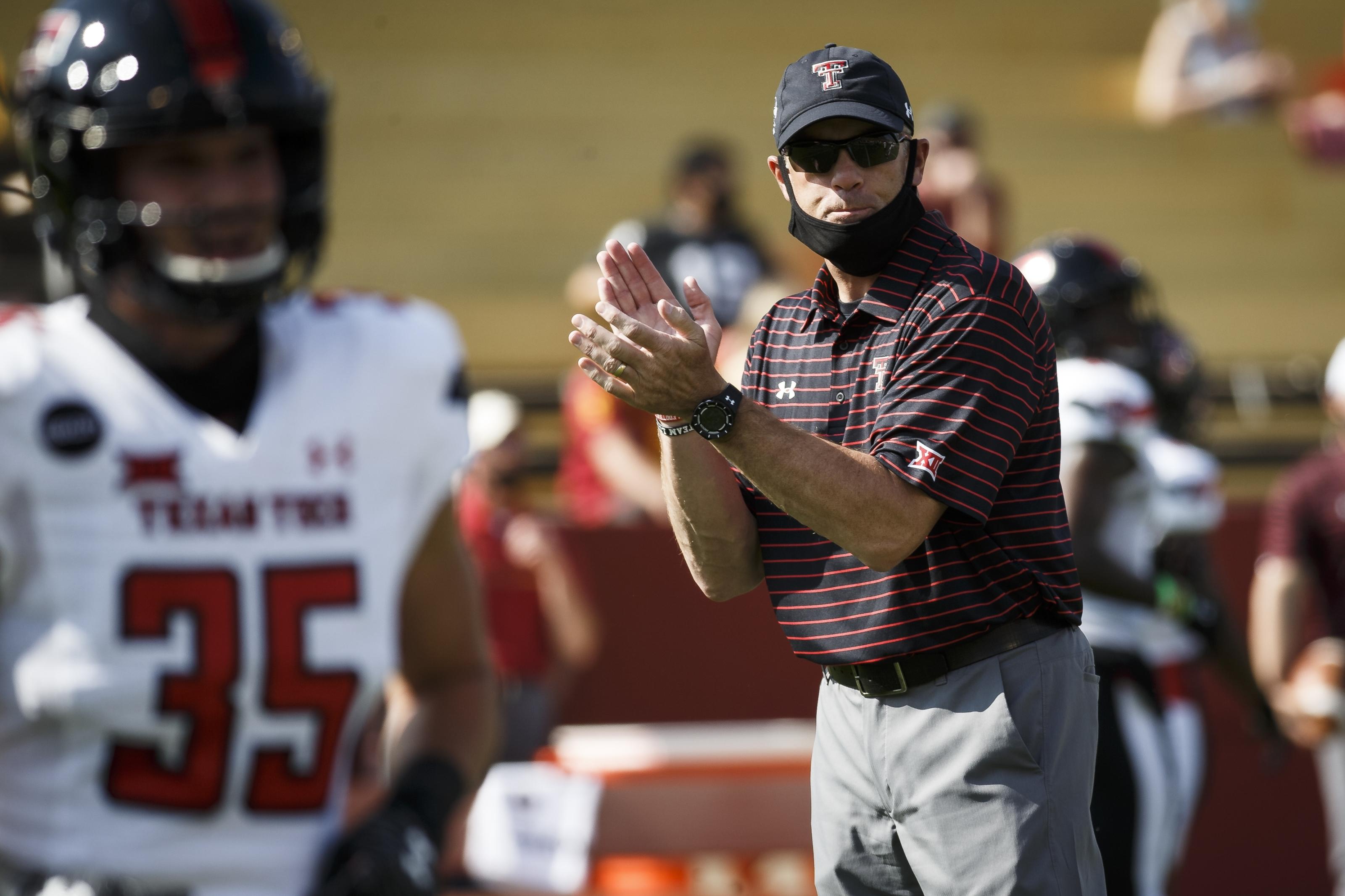 Texas Tech Football Matt Wells Continues To Coach From A Place Of Fear